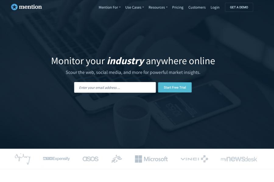 digital marketing platform - mention